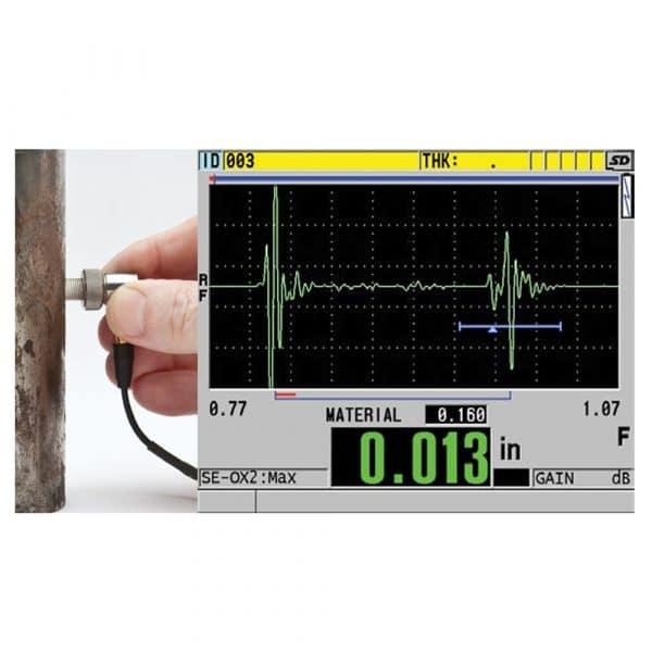 Module kiểm tra đo lớp oxit cho Thiết bị siêu âm đo chiều dày 38DL PLUS
