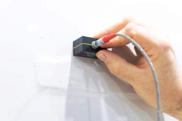 Đầu dò kiểm tra đính tán sử dụng dòng điện xoáy trong kiểm tra máy bay