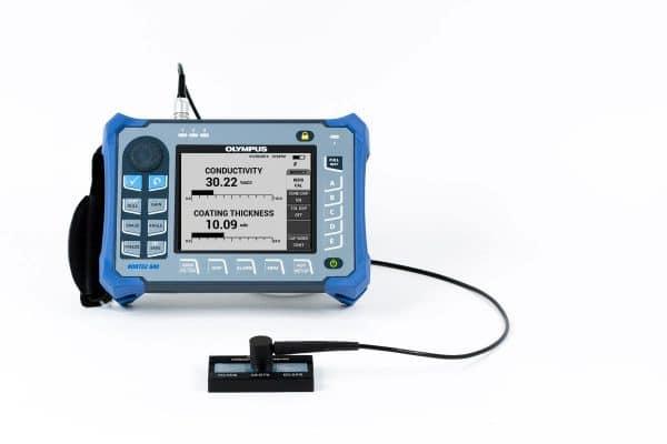 Sử dụng thiết bị NORTEC 600 đo độ đẫn điện của vật liệu