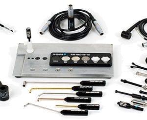 Mẫu cho cho phương pháp kiểm tra dòng điện xoáy