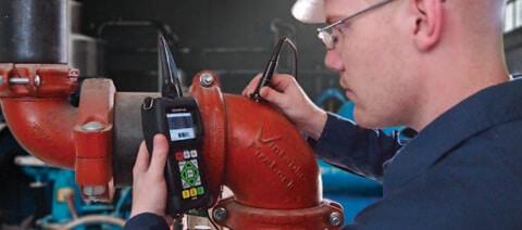 Thiết bị đo chiều dày siêu âm 45MG