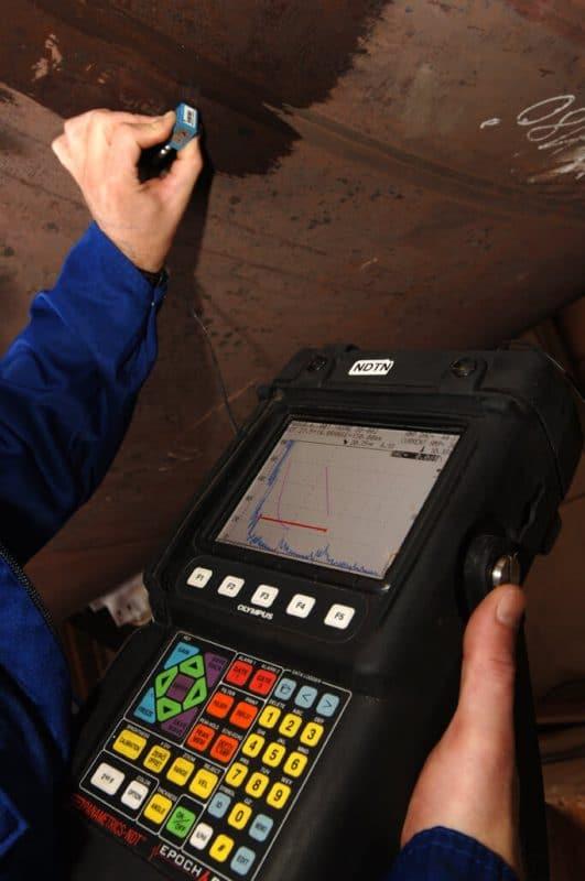 Kiểm tra siêu âm với thiết bị EPOCH XT