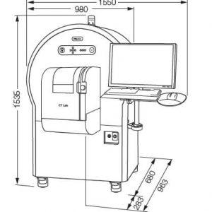 Thiết bị chụp chiếu cắt lớp điện toán của Rigaku