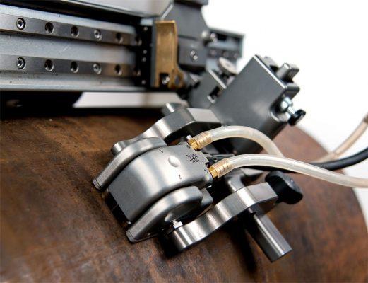 Đầu dò ăn mòn DLA được sử dụng với máy quét MAPROVER để kiểm tra tự động.