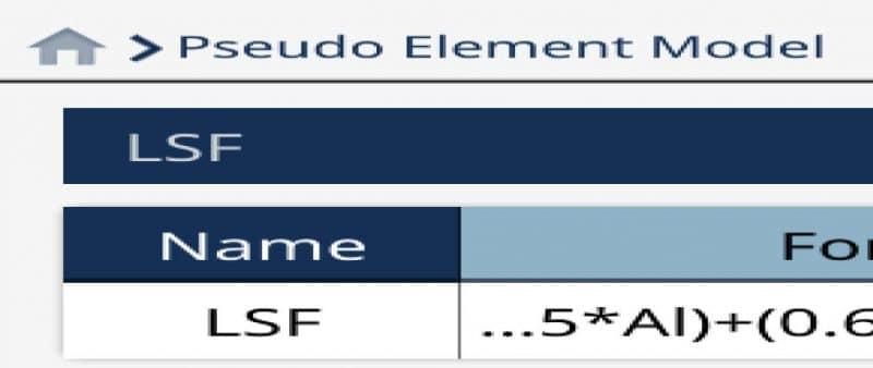 Pseudo Element Model