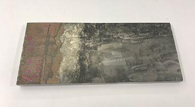 Bề mặt nhám và bẩn khi kiểm tra thép 304 stainless steel