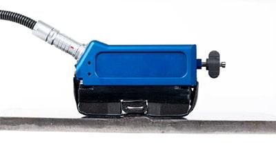 Bộ quét MagnaFORM cũng đầu dò có thể quét toàn bộ mối hàn và vùng ảnh hưởng nhiệt.