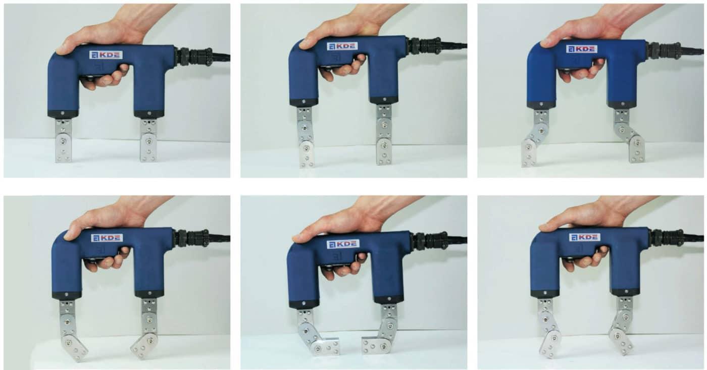 Handy Magna MP-A2 sử dụng với cấu hình chân tiêu chuẩn và chân 3 đoạn tùy chọn