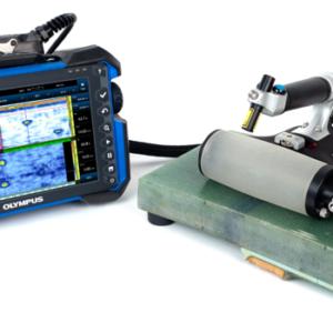 Đầu dò 1 MHz, với 13 mm elevation tối ưu cho kiểm tra cánh quạt điện gió