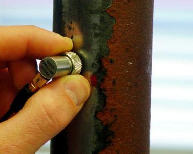 Kiểm tra lớp oxit bên trong đòi hỏi bề mặt phải tương đối bằng phẳng