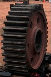 Bánh răng Bull (Spur) từ thiết bị 2800 P&H Shovel